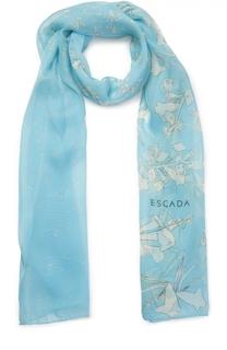 Шелковый шарф Escada