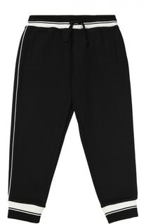 Спортивные брюки с контрастной отделкой Dolce & Gabbana
