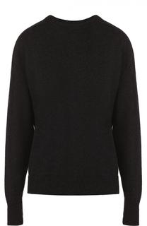 Пуловер свободного кроя с круглым вырезом и разрезом на спинке Isabel Marant