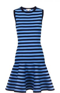 Расклешенное мини-платье в контрастную полоску Michael Kors