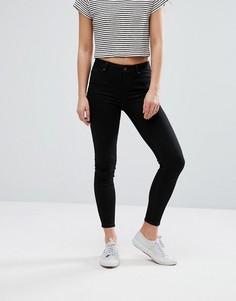 Мягкие джинсы скинни New Look - Черный
