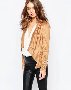Куртка в замшевом стиле New Look - Рыжий