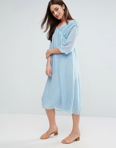 MiH Petaluma Midi Dress - Синий