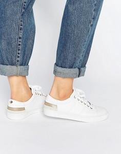 Белые кожаные кроссовки Tommy Hilfiger Jeanne - Белый