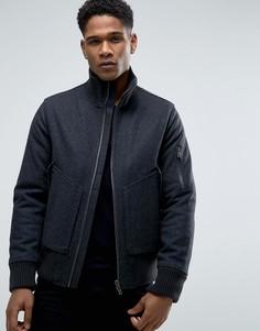 Куртка с добавлением шерсти Celio - Серый
