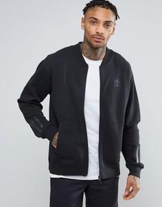 Черная свободная спортивная куртка adidas Originals Paris Pack BK0520 - Черный
