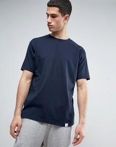 Темно-синяя футболка adidas Originals X By O BQ3051 - Темно-синий