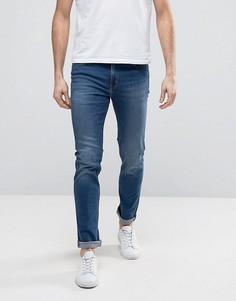 Синие облегающие джинсы Cheap Monday - Синий