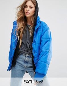 Дутая куртка Reclaimed Vintage - Синий