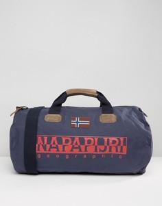 Синяя сумка дафл Napapijri Bering - Синий
