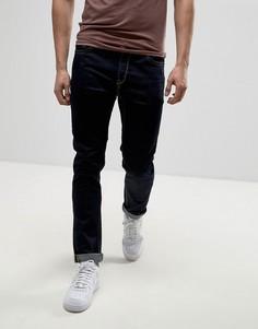 Темные зауженные джинсы Only & Sons - Синий