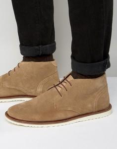 Замшевые ботинки чукка KG By Kurt Geiger - Рыжий