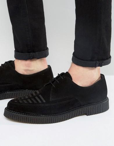 Замшевые туфли дерби Religion - Черный