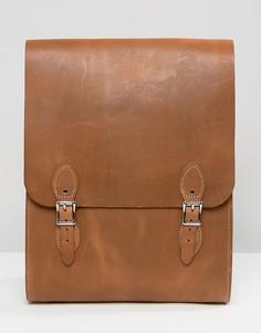 Рюкзак цвета дуба Leather Satchel Company - Рыжий