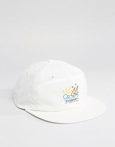 Бейсболка Element Snapback Cap - Белый