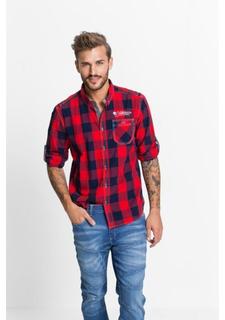 0b7ff448c29286a Купить мужские рубашки с длинным рукавом в клетку в интернет ...