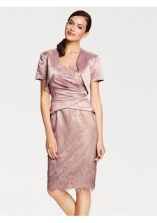 Комплект: платье + болеро