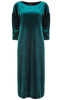 бархатное платье La Reine Blanche