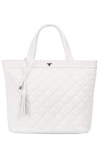 Белая кожаная сумка Palio