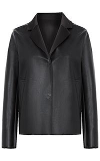 Женская куртка из экокожи и трикотажа Neohit