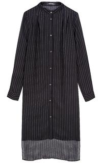 платье-рубашка в полоску La Reine Blanche