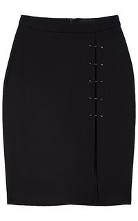 юбка с декорированным разрезом La Reine Blanche