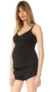 Майка для беременных с вшитым бюстгальтером для кормления Ingrid & Isabel