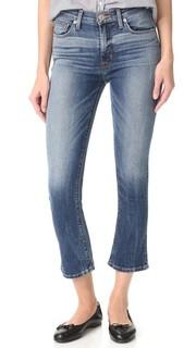 Укороченные джинсы с высокой посадкой Harper Hudson