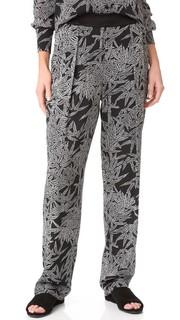 Мягкие брюки без застежки Diane von Furstenberg