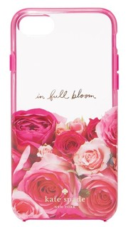 Чехол для iPhone 7 с надписью «In Full Bloom» Kate Spade New York