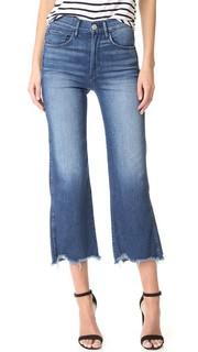 Укороченные широкие джинсы Shelter 3x1
