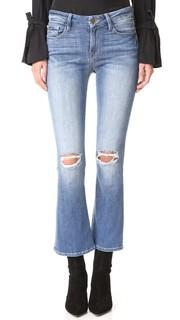 Короткие буткат-джинсы Frame