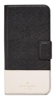 Кожаный чехол-книжка для iPhone 7 Plus Kate Spade New York