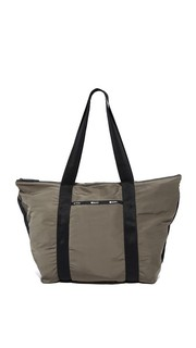 Большая объемная сумка с короткими ручками On the Go Le Sportsac