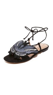 Обувь на плоской подошве с аппликацией в виде бабочки Alexa Wagner