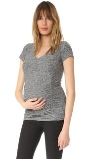 Легкая футболка для беременных с V-образным вырезом Beyond Yoga