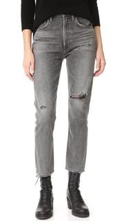 Укороченные узкие прямые джинсы Dree с высокой посадкой Citizens of Humanity