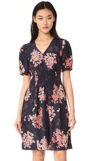 Платье Phlox с короткими рукавами и V-образным вырезом Rebecca Taylor