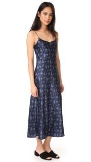 Платье-комбинация с цветочным принтом Vince