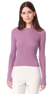 Укороченный кашемировый свитер Vince