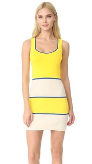 Платье с овальным вырезом Boutique Moschino