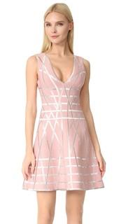 Расклешенное платье Jasmine Herve Leger