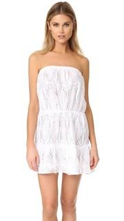 Связанное крючком пляжное платье Becca Milly