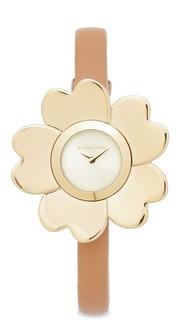 Часы Mena с кожаным ремешком Michael Kors