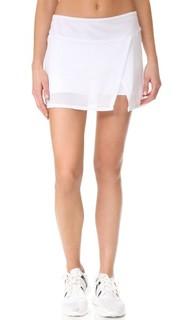 Юбка-шорты с сетчатой тканью Prismsport