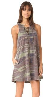 Платье All Tied Up с камуфляжным рисунком Z Supply