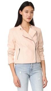 Байкерская куртка Dax из искусственной шагреневой кожи Cupcakes and Cashmere