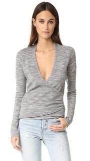 Пуловер с запахом Lawes Brochu Walker