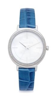 Часы Cinthia с кожаным ремешком Michael Kors