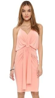 Платье до колен с узлом Misa